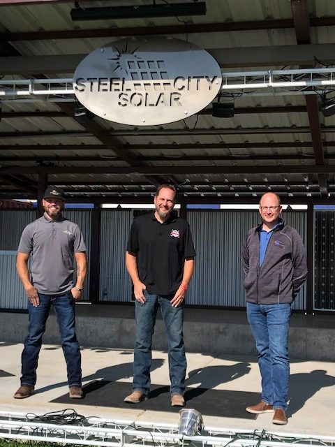 Steel City Solar, Bumperz, and San Isabel Electric Partners